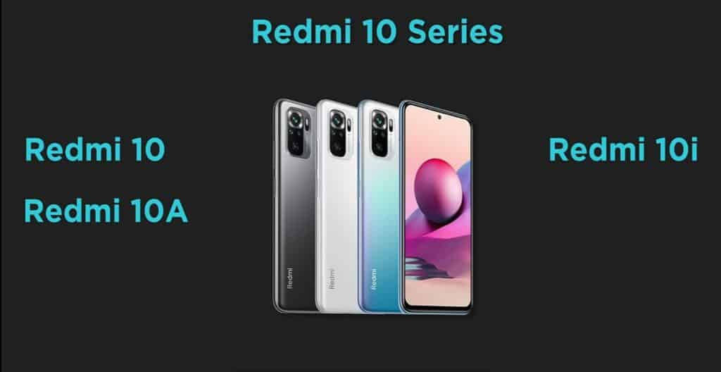 redmi 10 series